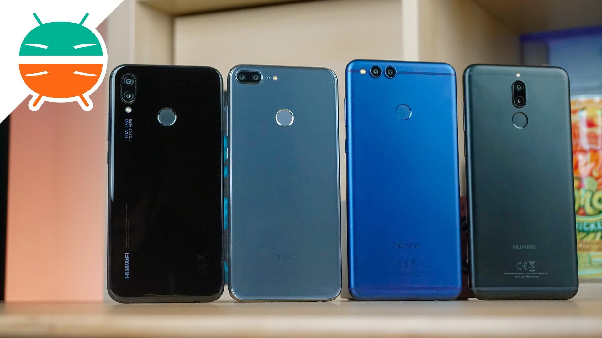 telefono cellulare in offerta honor 9  Confronto Huawei P20 Lite, Honor 9 Lite, Huawei Mate 10 Lite, Honor 7X!