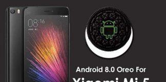 xiaomi mi 5 android 8.0 oreo