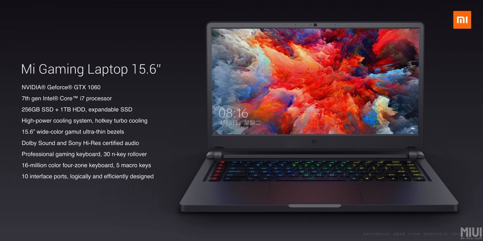 xiaomi mi gaming-laptop