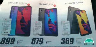 Precio Huawei P20 Pro