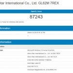 MSI GL62M 7REX GeekBench OpenGL
