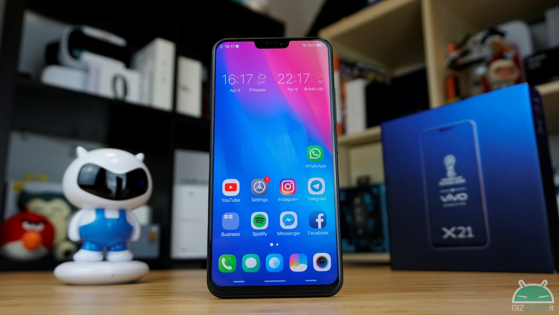 review vivo x21 ud