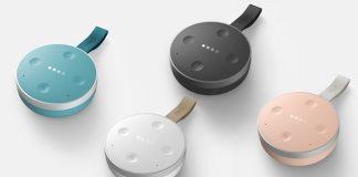 tichome mini smart speaker google assistant