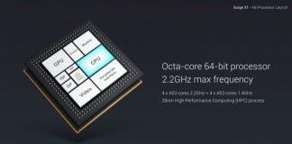 xiaomi surge s2 processore