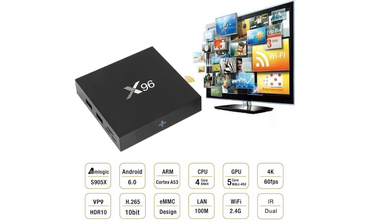 Caixa de TV X96