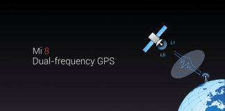 Xiaomi Mi 8 Dual-frequency GPS