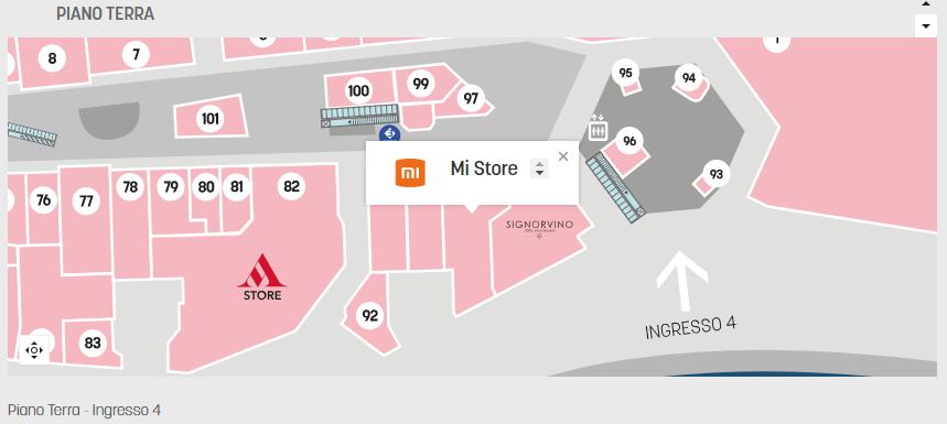 Xiaomi Mi Store il Centro Arese