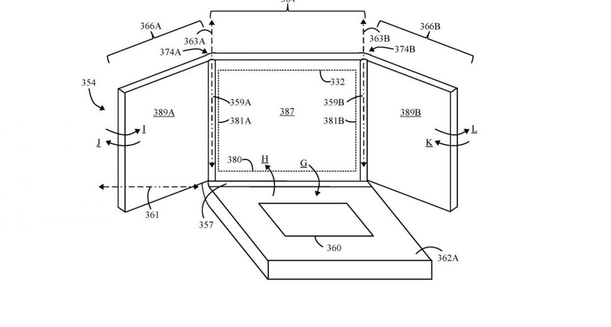 exposição folding patente da lenovo