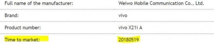 vivo x21i scheda tecnica e prezzo
