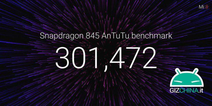 Xiaomi Mi 8 AntuTu