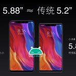 Xiaomi Mi 8 vs Xiaomi Mi 8 SE dimensioni