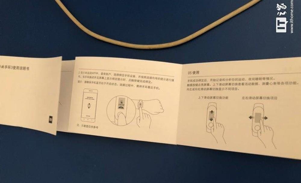 Xiaomi Mi Band 3: aquí está el manual del usuario con