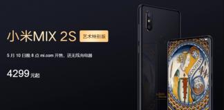 Xiaomi I mix specjalnej edycji 2s