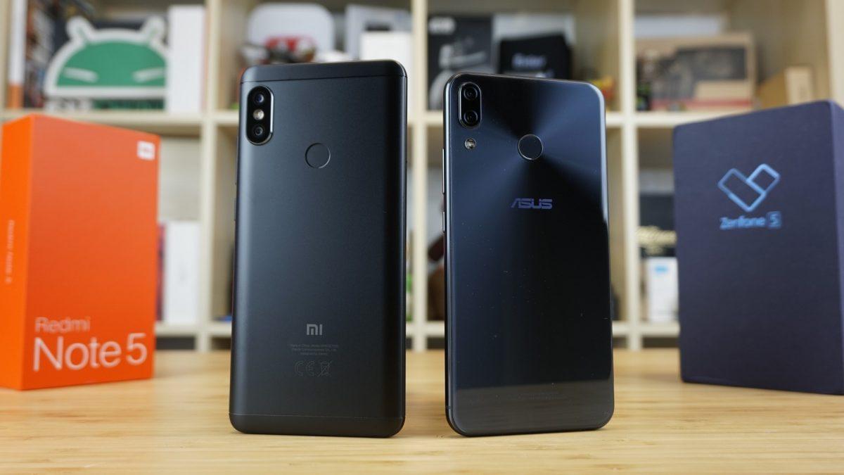 Confronto Xiaomi Redmi Note 5 vs ASUS ZenFone 5