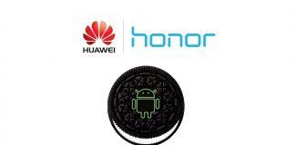 atualização de oreo de honra de huawei