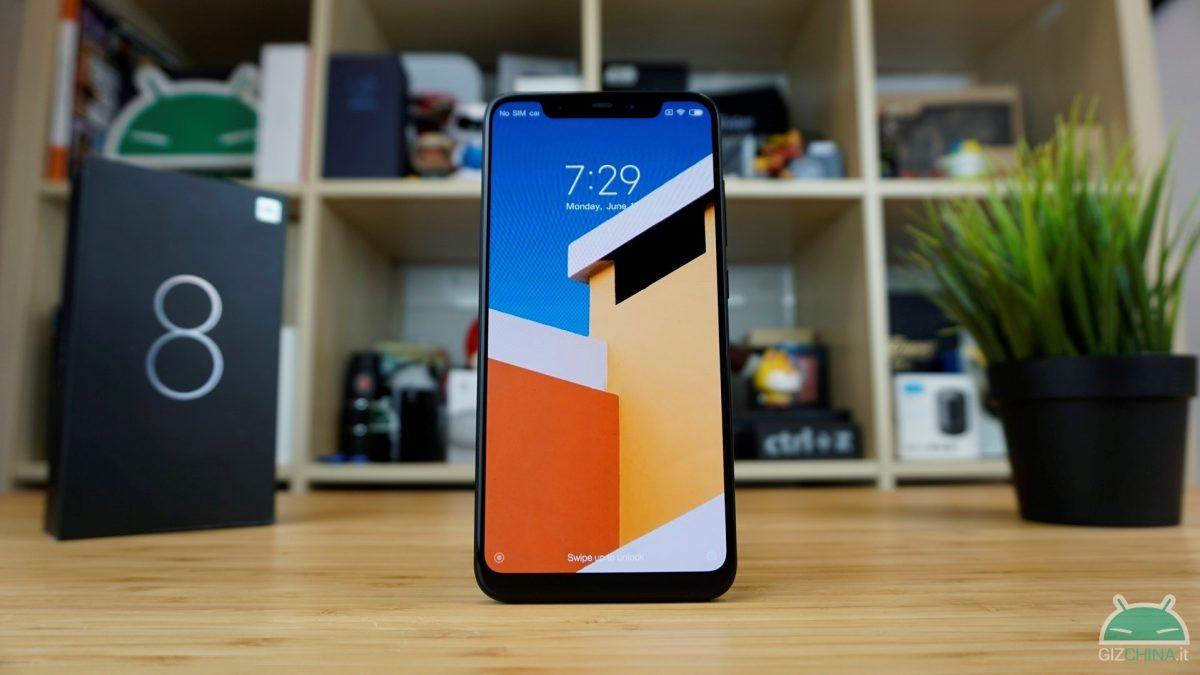 Xiaomi Mi 8 versione 6/64 GB Blu – GeekBuying