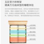 xiaomi 103° ergonomic double bed 5 regioni