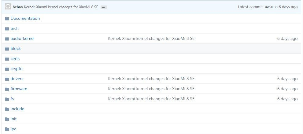 Xiaomi-8-me-se-kernel-source-code-github