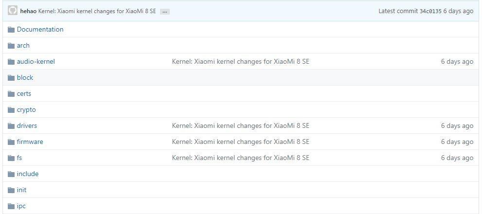 xiaomi-mi-8-se-codice-sorgente-kernel-github