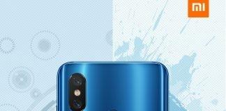 Xiaomi-me-8-cabeça-azul-bandeira