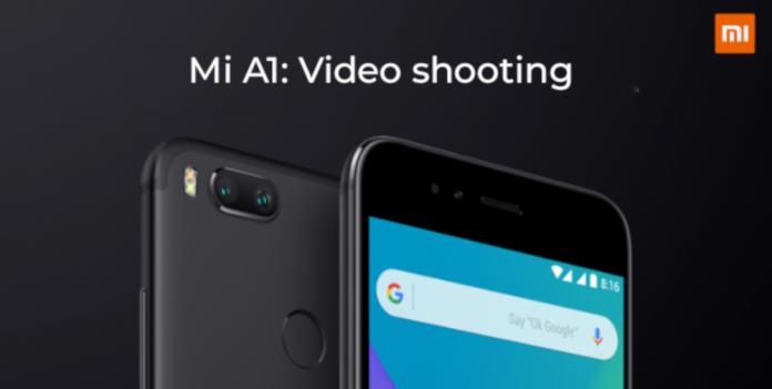 Xiaomi-me-a1-video-tiro-bandeira