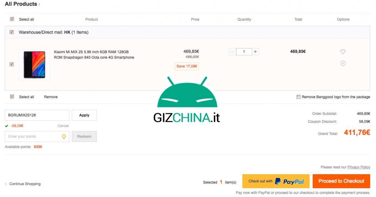 Xiaomi Mi MIX 2S oferta