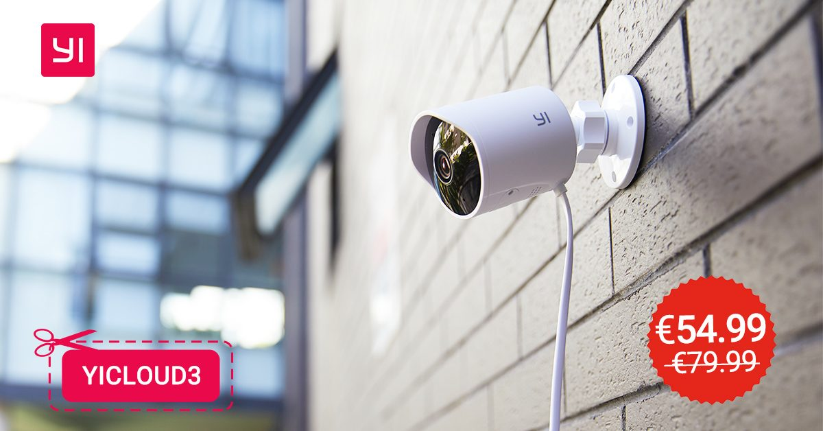 Yi Camera Outdoor is available on offer with discount code
