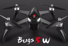 MJX Bugs 5W 5G WiFi FPV RC Drone quadcopter TomTop oferta