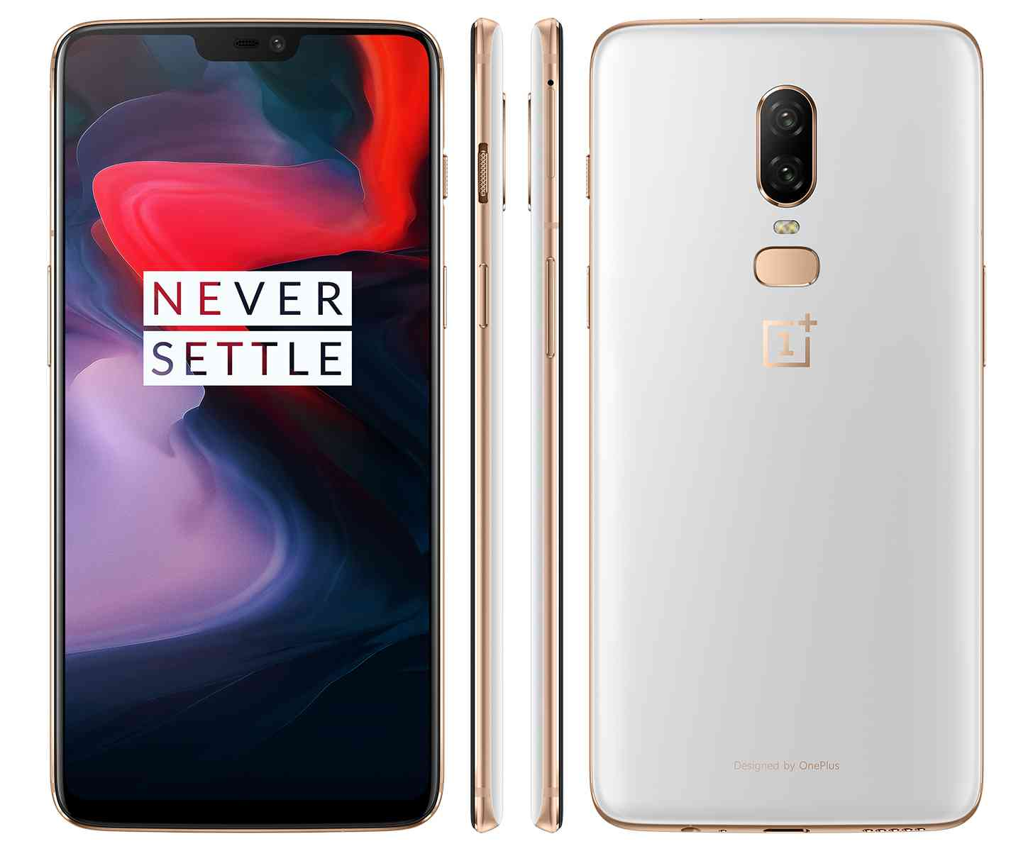 OnePlus 6 8/128 GB Silk White – GeekBuying