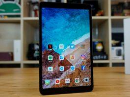 xiaomi mi pad 4 display