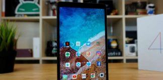 xiaomi mi pad 4 display