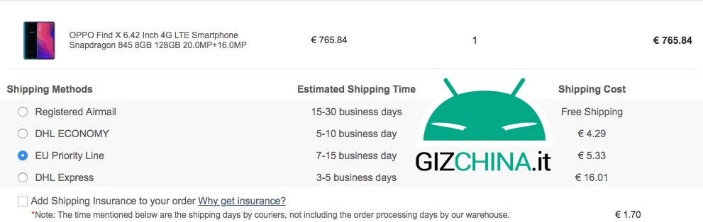 EU Priority Line by GeekBuying | Customs | Cost | Tracking