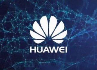 Huawei-логотип-синий