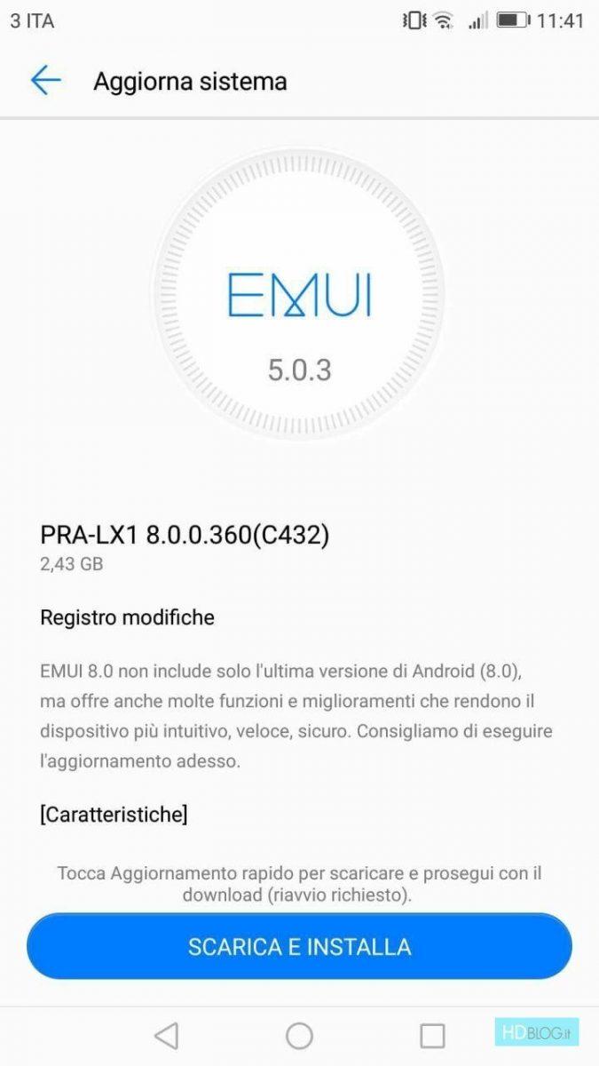 huawei p8 lite 2017 não marca android oreo 1