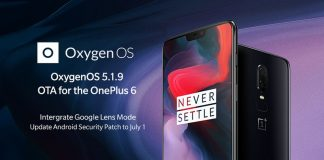 oneplus-6-oxygenos-5-1-9-aggiornamento