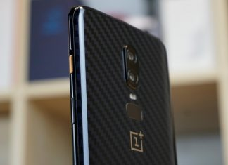 oneplus 6 sfarfallio display 1