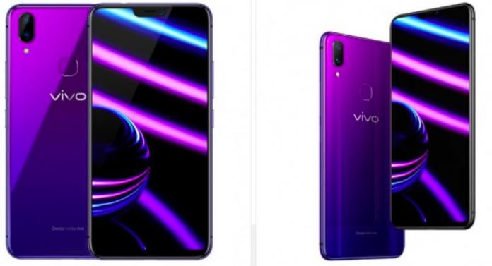 vivo x21i night purple