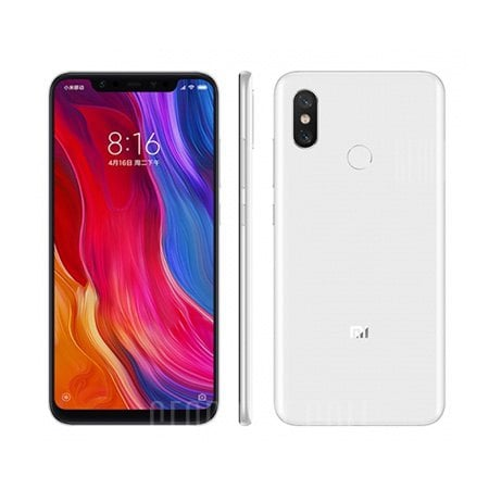 Xiaomi Mi 8 6 / 64 GB Branco - GeekBuying