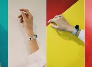 Xiaomi mi Band 3 transparent