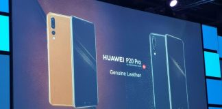 Huawei P20 Pro Genuine Leather