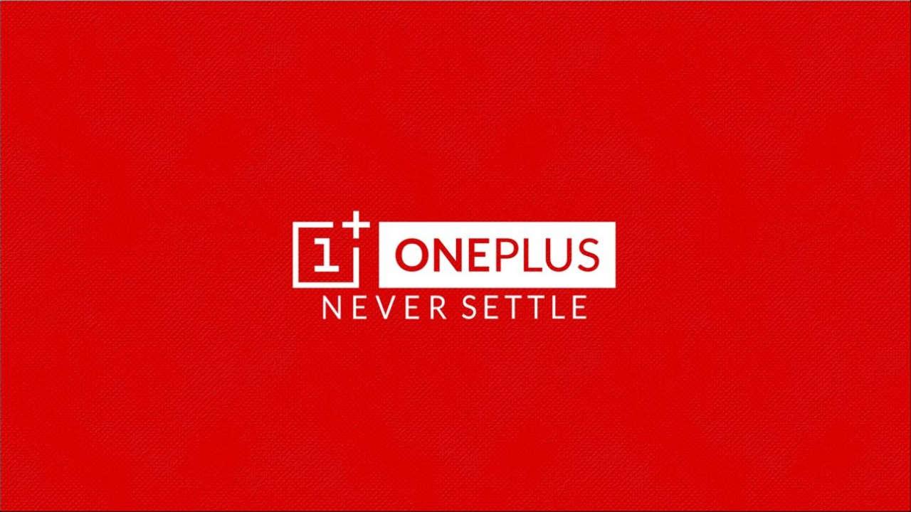 OnePlus logo; never settle