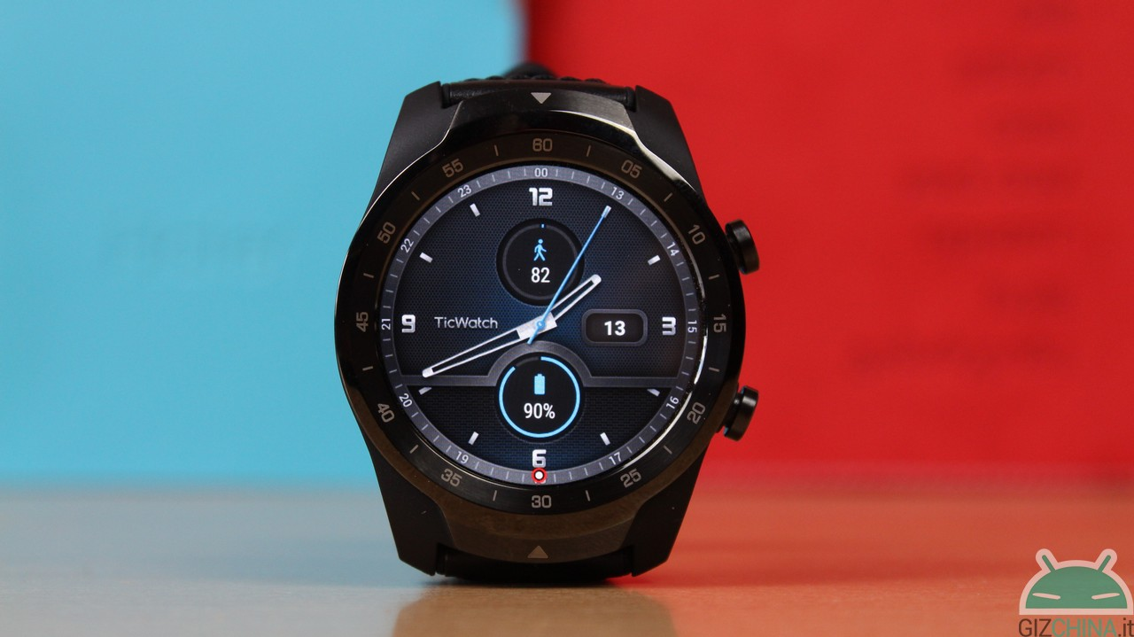 TicWatch Pro: with WearOS 2 2 you can set up Google Fit - GizChina it