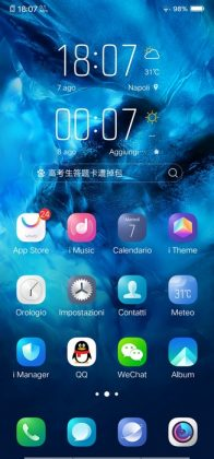 vivo nex s software