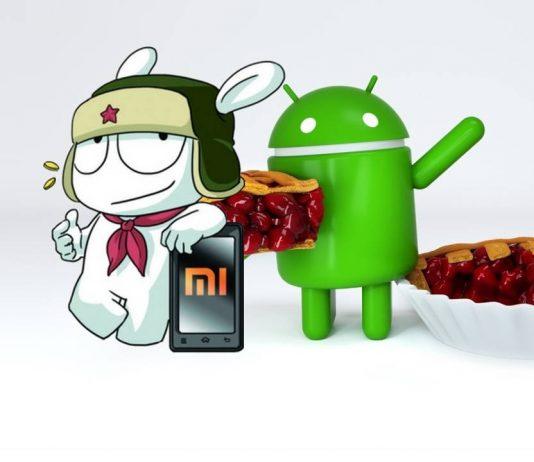 tarte Xiaomi android 9