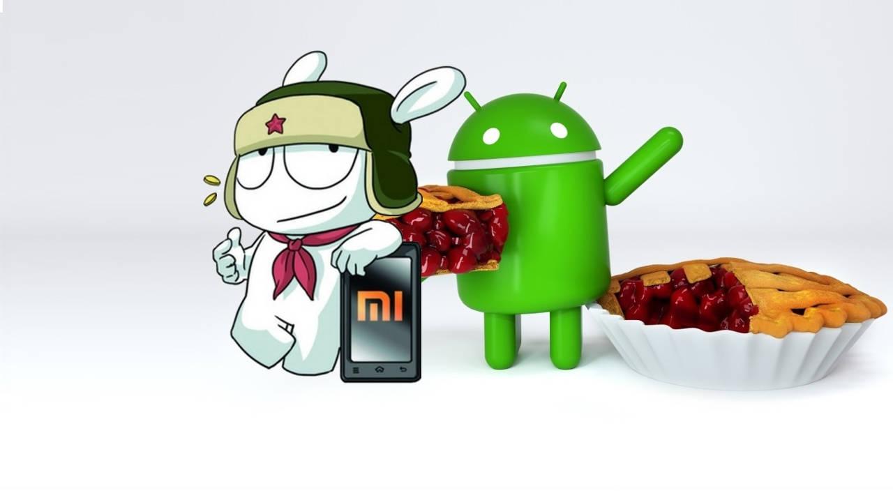xiaomi android 9 pie