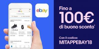 eBay buono sconto 1 MITAPPEBAY18