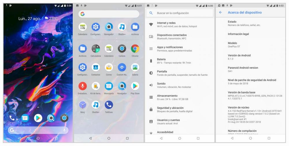OnePlus 5 / 5T and OnePlus 3 / 3T: Paranoid arrives Android