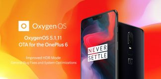 oxygenos banner oneplus 6