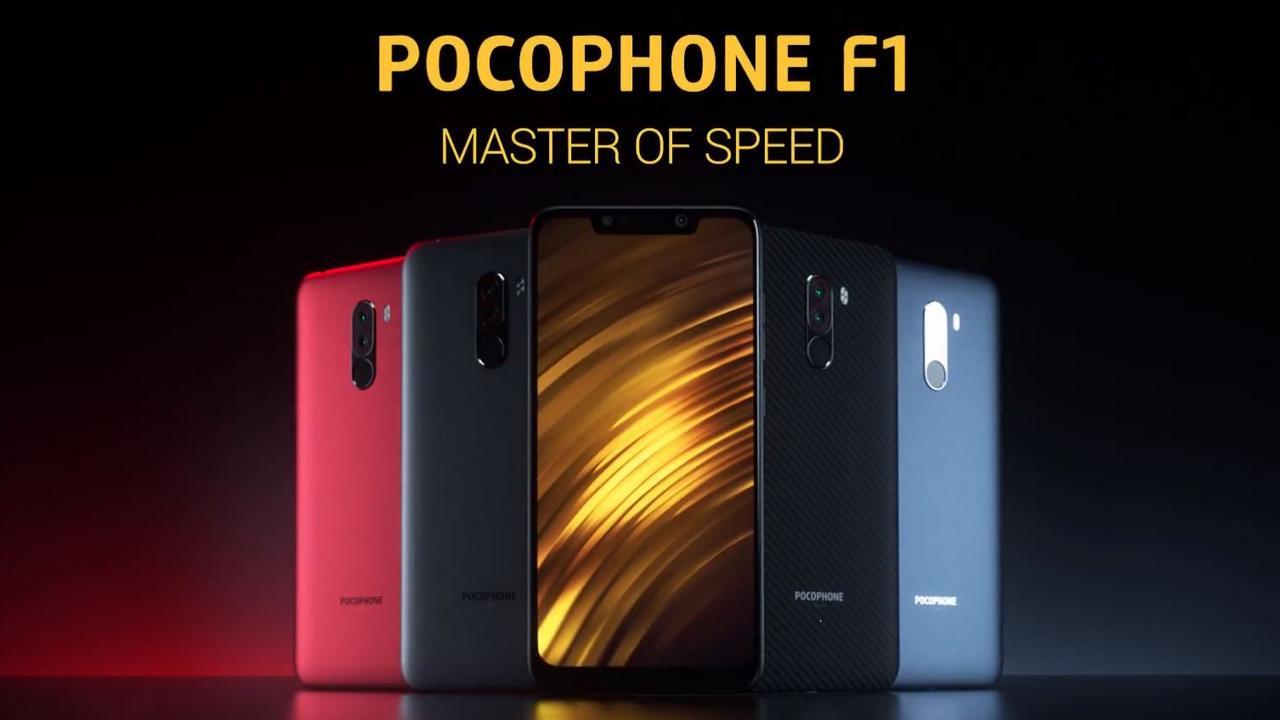 Xiaomi POCOPHONE F1: presales are starting in the Mi Stores