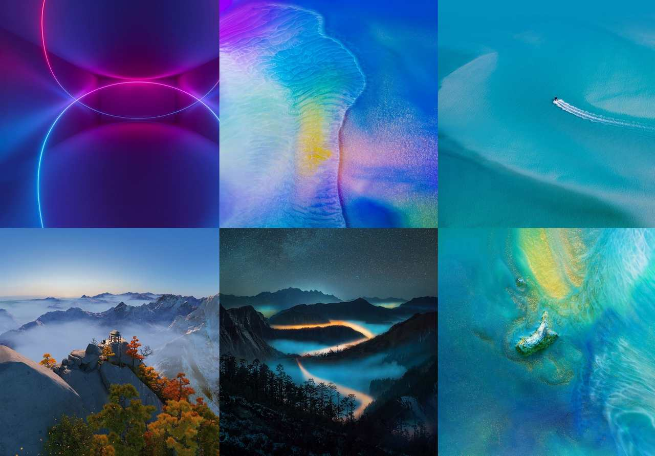 Huawei Mate 20: here are the official wallpapers and themes